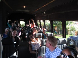 2 - BH Bus Tour - Taking off from Broadmoor