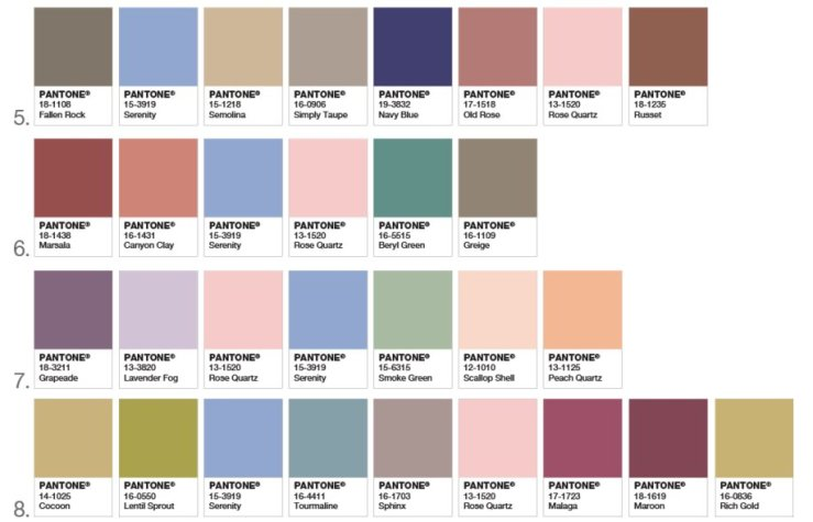 2016's Pantone Color of the Year – The BH Blog