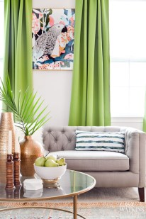 pantone-color-greenery-curtains-global-style-room