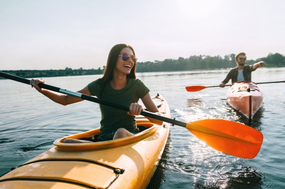 Couple – Kayaking