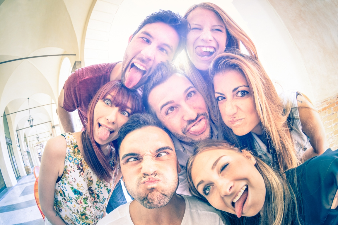 Group - Funny Faces