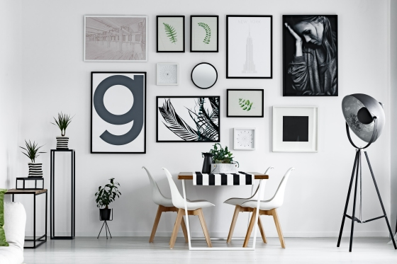 Dining Room - Gallery Wall